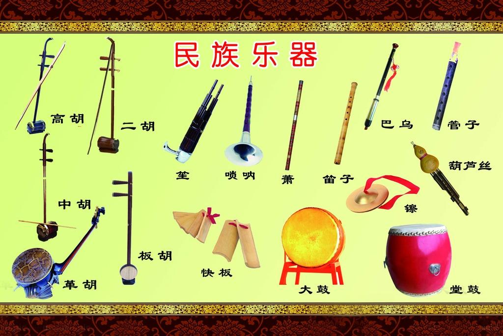 藝考樂器有哪些,民族樂器展示