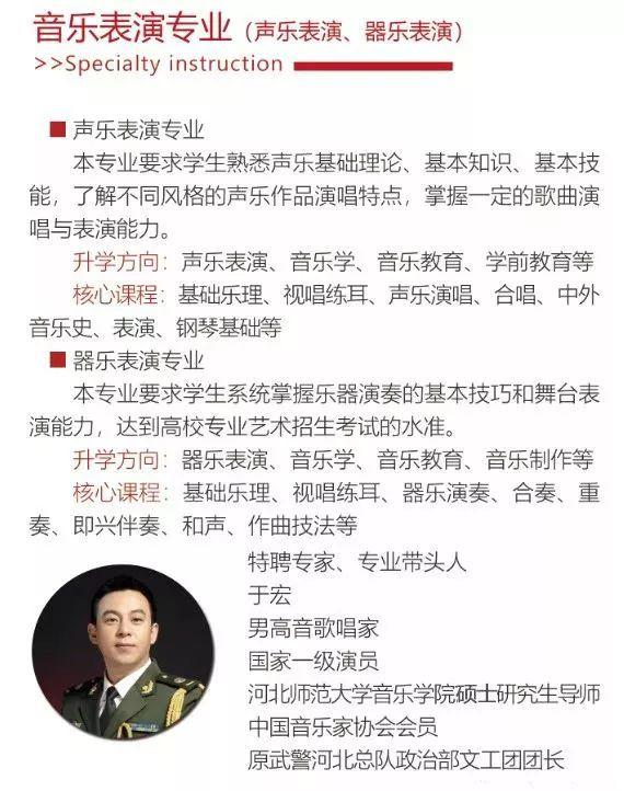 華唐藝術高中音樂表演專業