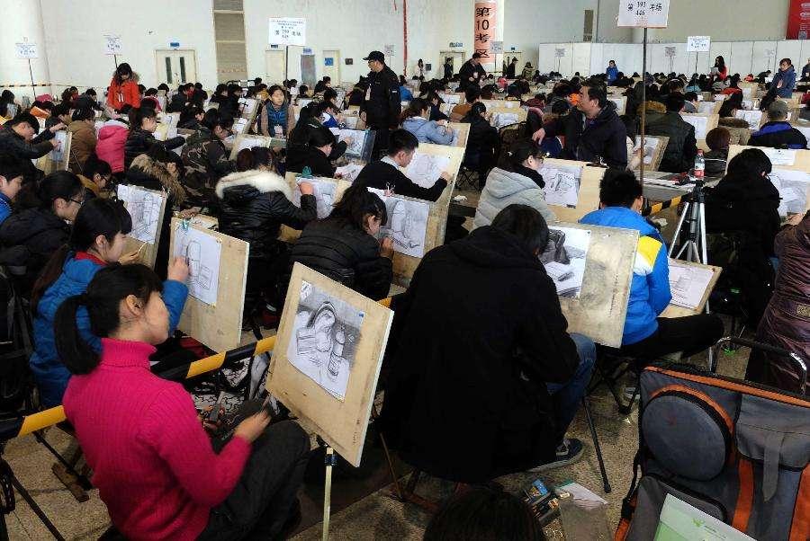 藝術專業考生考生