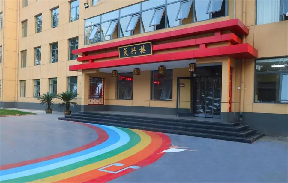 華唐藝術高中校園環境