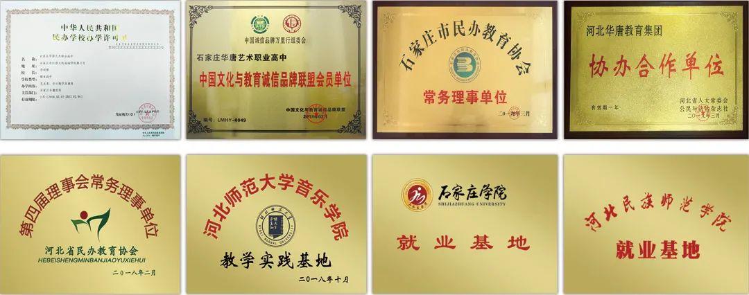 精英华唐艺术高中学校荣誉